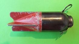 Projectile Pour Mortier Italien De 45mm Brixia Modèle 1935 - Armi Da Collezione