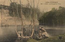L'Isére Pittoresque , N° 135 , Vinay , Les Gorges De L'Ivery ,( Pêche , Pêcheur ) Couleur - Vinay