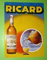 Calendrier De Poche Ricard 1982 - Calendriers