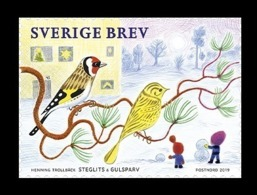Sweden 2019 Mih. 3294 Fauna. Common Small Birds MNH ** - Neufs