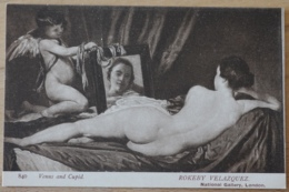Venus And Cupid  Rokeby Velazquez National Gallery London - Malerei & Gemälde