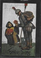 AK 0408  Heil Und Sieg - Wohlfahrts-Ausschuß-Postkarte Um 1916 - Humor