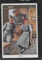 AK 0408  Geplänkel - Soldatenliebe Um 1917 - Humor