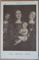 Le Perugin Sainte Familie Holy Family Heilige Familie Musée Du Louvre - Malerei & Gemälde