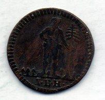 GERMAN STATES - BRUNSWICK-WOLFENBUTTEL, 1 Pfennig, Copper, Year 1742, KM #901.2 - [ 1] …-1871 : Duitse Staten