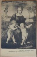 Firenze R. Galleria Uffizi La Madonna Del Cardellino Raffaello - Malerei & Gemälde
