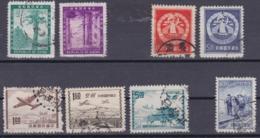 TAIWAN 1954, Small Lot, Cancelled - 1945-... République De Chine