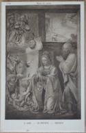 B. Luini Musée Du Louvre La Native Nativity - Malerei & Gemälde