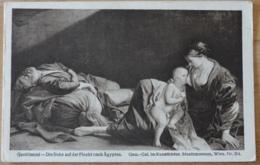 Gentileschi Die Ruhe Auf Der Flucht Nach Ägypten Gemäldegalerie Im Kunsthistorischen Museum Wien - Malerei & Gemälde