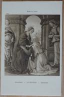 Musée Du Louvre Ghirlandajo La Visitation - Malerei & Gemälde
