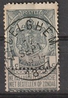 COB N° 53 - Oblitération ZEDELGHEM 1897 - 1893-1800 Fijne Baard