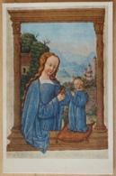 Stundenbuch Madonna Jesus The New York Public Library - Malerei & Gemälde