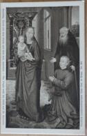 Hans Memling Maria Mit Dem Kinde Und Dem Heiligen Antonius The Virgin With The Child And St. Antonius Wien Vienna - Malerei & Gemälde