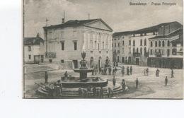 CPA  - ITALIE -  Bussolengo - PIAZZA PRINCIPALE -  (scans Recto Et Verso) - TBE - Verona