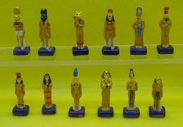 Fève  - Série Complète - Statuette égyptienne 2015 - Egypte - Statue  - Réf AFF 2015 41 - Pays