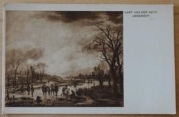 Aart Van Der Neer Ijsgezicht Bredius Museum 's Grevenhage - Malerei & Gemälde