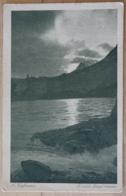 A. Kaufmann Es Will Abend Werden Feldpost Landschaft Wasser - Ansichtskarten