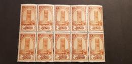 Maroc Yvert 100** Bloc De 10 - Maroc (1891-1956)