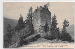 Rougemont - Tour Du Vanel Entre Rougemont Et Saanen - Détruite En 1907 En Lien Avec La Passage Du M.O.B. - VD Vaud