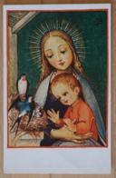Maria Jesus Madonna Josef Bachlehner Hall In Tirol Maria Am Nesterl Schwalben Vogelnest - Jungfräuliche Marie Und Madona
