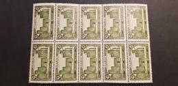 Maroc Yvert 102** Bloc De 10 - Maroc (1891-1956)