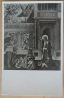 Perugia R. Pinacoteca Vannucci L'Annunciazione Nel Mezzo S. Lucia Ev. Benedetto Bonfigli Firenze - Malerei & Gemälde