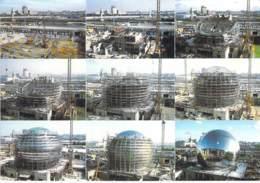 ** Lot De 2 Cartes ** 75 - PARIS 19 ème - CITE DES SCIENCES ET DE LA VILLETTE ( Dont GEODE En Construction ) CPM GF - Arrondissement: 19