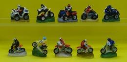 Fève  - Quads Et Motocross -  Réf AFF 2008 21 - Quad  Moto Cross Véhicule - Autres