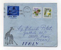 UGANDA - 1970 - Aereogramma Viaggiato Dall'Uganda Per Povo (Trento) - (FDC19379) - Uganda (1962-...)