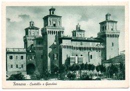 Ferrara - Castello Estense E Giardini - Ferrara
