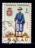 ! ! Macau - 1966 Soldiers Military Uniforms 1Pt - Af. 413 - Used - Macao