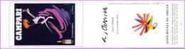 Marque-page °_ Affichistes Du Siècle - Alain Carrier - Campari ° Un Moment D'euphorie - 6x21 R/V - Marque-Pages