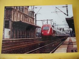 TRAIN 1186 - TIRAGE 100 EXEMPLAIRES - 93 ST DENIS JUILLET 1998 UNE RAME TGV PBKA THALYS PASSE EN G... - PHOTO J. FOURNOL - Saint Denis
