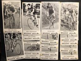 17 Cartes / Cards Willem II -Gazelle 1968 -  Cyclists - Cyclisme - Ciclismo -wielrennen - Wielrennen