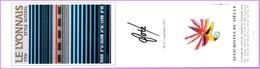 Marque-page °_ Affichistes Du Siècle - M-P Postal. Foré - TEE Le Lyonnais ° Style Mistral - 6x21 R/V - Marque-Pages