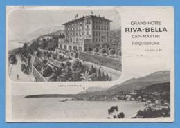 83 - ROQUEBRUNNE - CAP MARTIN - HOTEL - RIVA BELLA - VOIR ZOOM - Roquebrune-sur-Argens