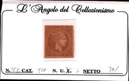 10243)  Grèce N°18A 1862 - Tête De Mercure-2 LEPTA-SENZA GOMMA - Gebraucht