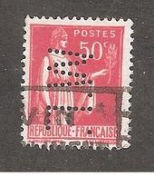 Perforé/perfin/lochung France No 283 W.F. Ets Gaillard - Frankreich