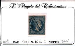 10246)  Grèce N°14 1861- Tête De Mercure-20 LEPTA-USATO - Oblitérés