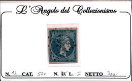 10248)  Grèce N°14 1861- Tête De Mercure-20 LEPTA-USATO - Oblitérés