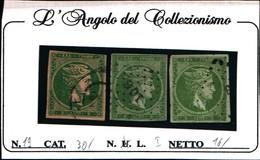 10247)  Grèce N°19 1862- Tête De Mercure- 5 LEPTA-USATO-UN PEZZO - Usati