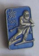 AA33 Pin's Olympics Games Jeux Olympiques JO HIVERS CALGARY Canada 88 ANCIEN JEUX SKI Achat Immédiat - Wintersport