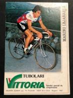 Carte / Card - Vittoria - Marino Lejaretta -  Cyclists - Cyclisme - Ciclismo -wielrennen - Wielrennen