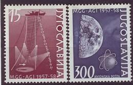 YUGOSLAVIA 868-869,unused - 1945-1992 Socialistische Federale Republiek Joegoslavië