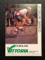 Carte / Card - Vittoria - Giovanni Battaglin -  Cyclists - Cyclisme - Ciclismo -wielrennen - Wielrennen