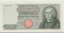 ITALY  P. 98c 5000 L 1970 UNC - [ 2] 1946-… : Repubblica