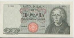 ITALY  P. 98c 5000 L 1970 XF - [ 2] 1946-… : Républic