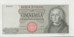 ITALY  P. 98a 5000 L 1964 XF - [ 2] 1946-… : Repubblica
