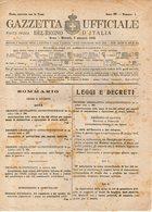 B 2997  -  Gazzetta Ufficiale Del Regno D'Italia,  1945 - Decreti & Leggi