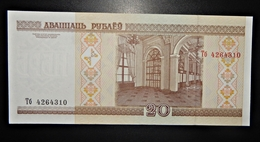 A1 BILLETS DU MONDE WORLD BANKNOTES 20 BELARUSIAN RUBLE - Bankbiljetten